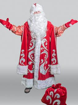 Костюм Деда Мороза Богатый в Челябинске