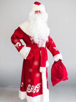 Костюм Деда Мороза Боярский в Челябинске
