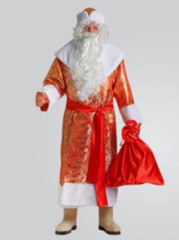 Золотой костюм Деда Мороза Челябинск