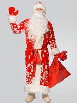 Меховой костюм Деда Мороза в Челябинске