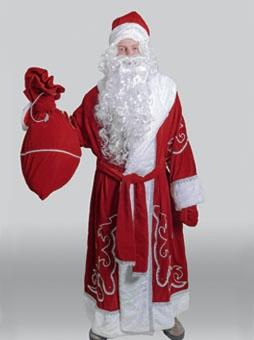 Традиционный костюм Деда Мороза в Челябинске
